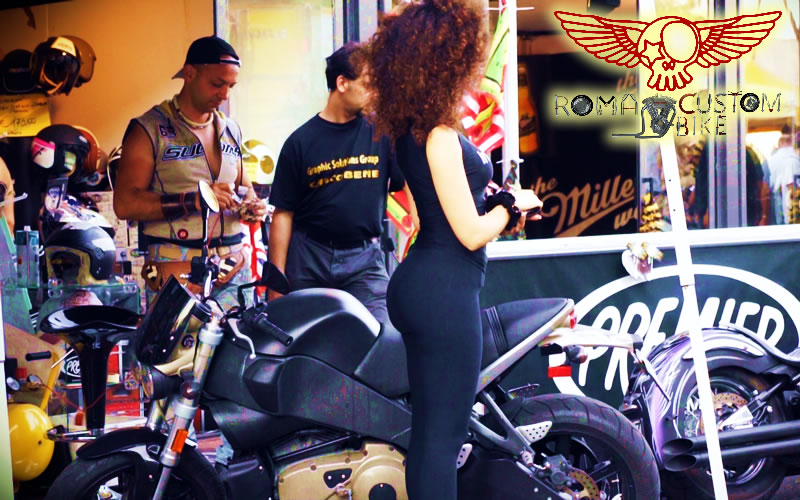 Harley Davidson 110 Anniversary Special in Rome