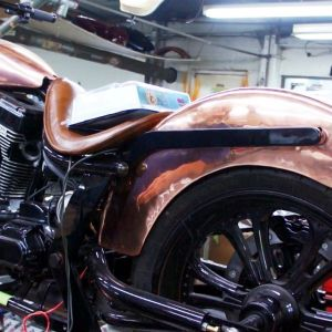 Stones cycle special - 09 copper custom motorcycle