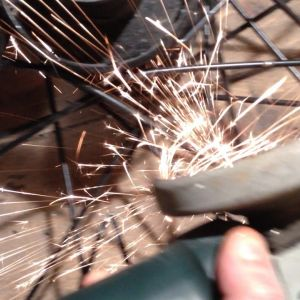 ep 01 08 grinding the harley wheel spokes