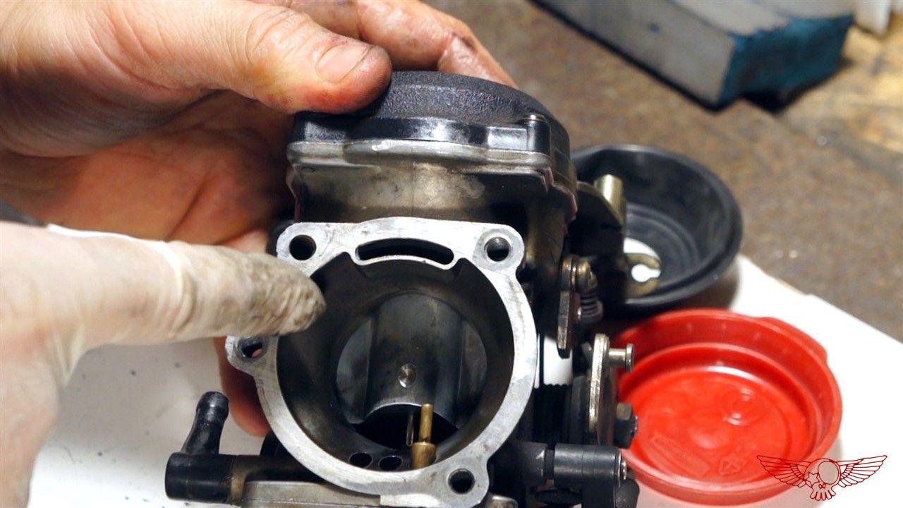 18 rebuild an hd cv carburator and float adjustment