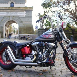 ep 19 10 harley davidson softail in rome italy