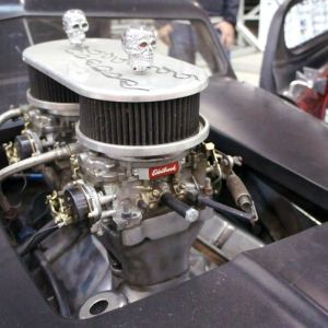 ep 26 02 carburatore Edelbrook su hot rod