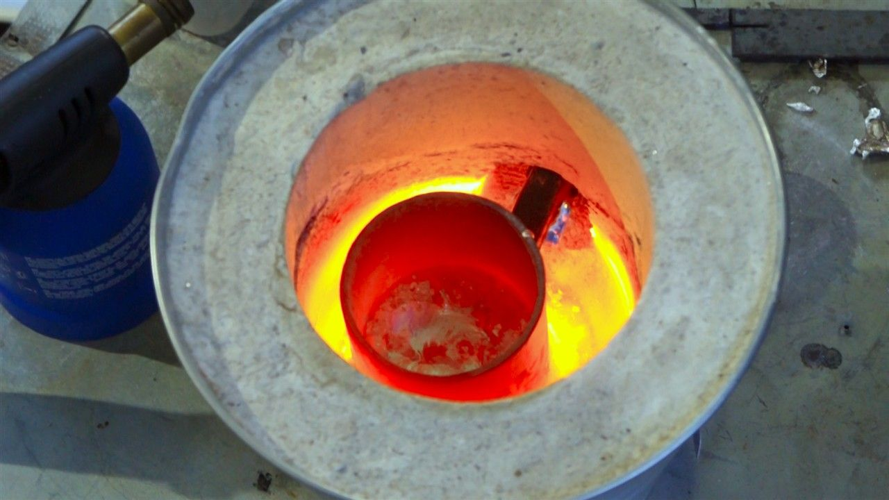 31 - How to make a metal foundry at