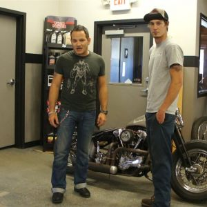 ep10 11 CUstom Cez and Jake Cutler from Barnstorm Cycles
