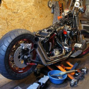 ep13 06 Harley Davidson softail assembly